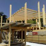 Montaggio strutture in legno e acciaio