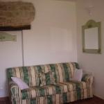 Soggiorno con divano letto 2 posti