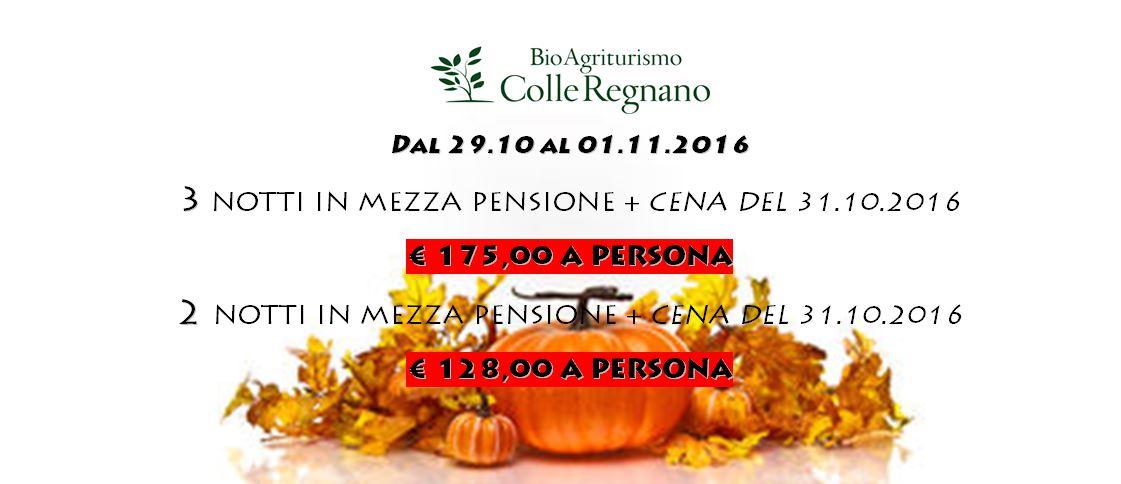 Pacchetto Fine Ottobre 2016