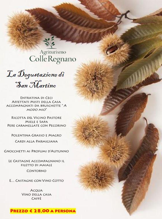 Menù Degustazione San Martino
