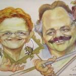 Rita e Bruno visti da Sandro Fabbri