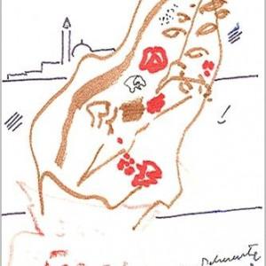 disegno su carta cm. 17,5x12,2