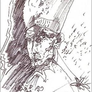 disegno su carta cm. 17,2x11,6
