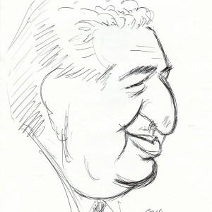 Virgì - Carlo De Benedetti - disegno su carta cm. 30x20