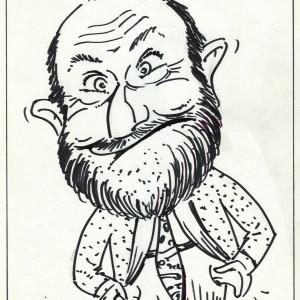 Virgì - Enrico Beruschi - disegno su carta cm. 30x20