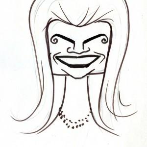 Virgì - Jac Kennedy - disegno su carta cm. 20x15