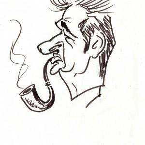 Virgì - Luciano Lama - disegno su carta cm. 20x15
