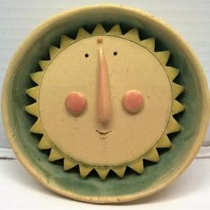 opera in ceramica cm. Ø12x5