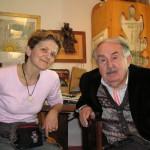 Rita Verdenelli con il Maestro