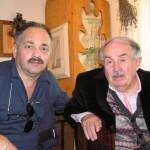 Bruno Blarasin con il Maestro