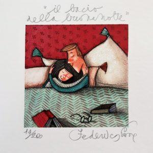 serigrafia su foglio cm. 14x14