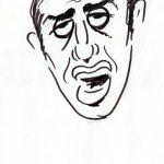 Virgì - Adriano Celentano, disegno su carta cm. 20x15