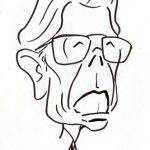 Virgì, Arnaldo Forlani - disegno su carta cm. 20x15