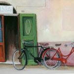 Cristallini - cicli Testi, tempera su cartoncino cm. 50x70