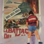 Cristallini, Faccio la pipì non faccio la guerra, opera unica ad olio su tela cm. 100 x 90 – opera presente alla Marguttiana di Macerata nel 1974