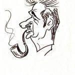 Virgì, Luciano Lama - disegno su carta cm. 20x15