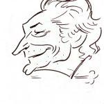Virgì, Mario Smareglia - disegno su carta cm. 20x15