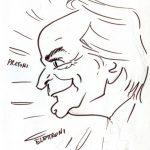 Virgì - Antonino Zichichi, disegno su carta cm. 20x15