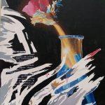 Magri Tilli Paolo - Bellezza Duemila1999, tecnica mista su compensato cm. 77x61