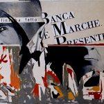 Magri Tilli Paolo - BANCA MARCHE, 1995 - tecnica mista su tavola cm. 60X90