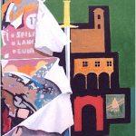 Magri Tilli Paolo - CAMERINO, 1995 - tecnica mista su tavola cm. 87X60