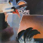 Magri Tilli Paolo - Delphinarium-1999, tecnica mista su tavola cm. 100x80