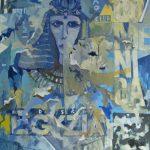 Magri Tilli Paolo - Egizia, 1994 – tecnica mista su tavola cm. 87×62