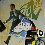 Magri Tilli Paolo - Facis, 1997 - tecnica mista su tavola cm. 85x60
