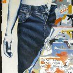 Magri Tilli Paolo - LEVIS, 1995 - tecnica mista su tavola cm. 90x70
