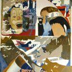 Magri Tilli Paolo - Nando Orfei , 1995 - tecnica mista su tavola cm. 85x63