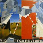 Magri Tilli Paolo - Oransoda, 1995 - tecnica mista su tavola cm. 60x85