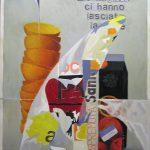 Magri Tilli Paolo - Santal, 1995 - tecnica mista su tavola cm. 84x65