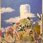Magri Tilli Paolo - Sprite, 1995 - tecnica mista su tavola cm. 77x70
