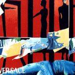 Magri Tilli Paolo - Versace,1994, olio e collage su compensato cm. 60×90