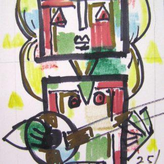 Totem con chitarra