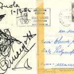 Margotti - disegno su cartolina cm. 10x15