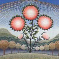 Grande fiore trifoglio