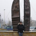 opera del maestro al Porto di Pesaro