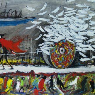 Il carro delle piume al vento