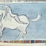 tecnica mista su carta cm. 35x50