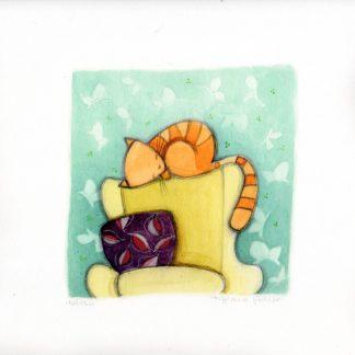Sognando - Digital Fine Art Print Epson - su carta 100% cotone - Retouchè cm. 30x30