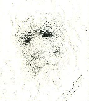 Spoltore, Figura 1 - disegno su carta cm. 15x10
