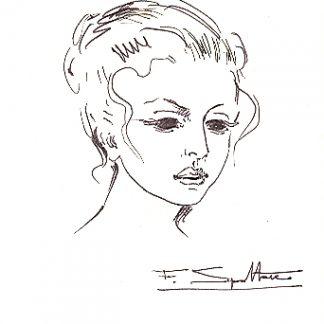 Spoltore, Figura 2 - disegno su carta cm. 17,7x12,5