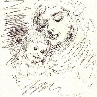 Figura 4 - disegno su carta cm. 20x14