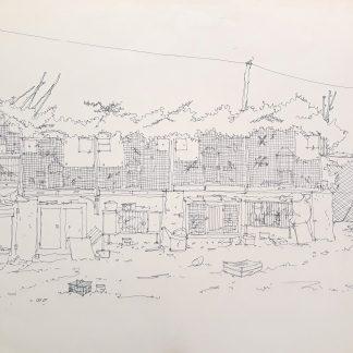 22 - La mia passione - china su carta cm. 70x50